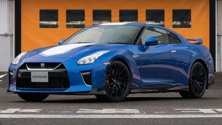Nissan GT-R 50th Anniversary Edition Gets R34 Signature Paint, £92,995 Tag