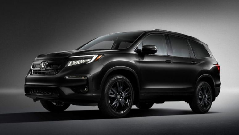 2020 Honda Pilot Black Edition debuts in all black everything - Autoblog