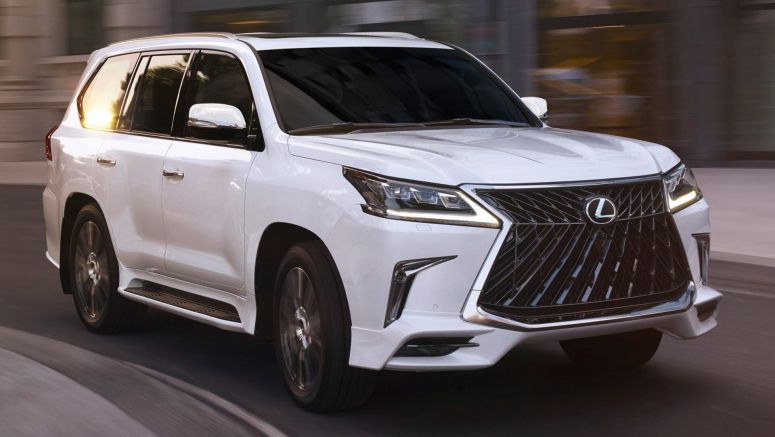 2020 Lexus LX Gets A Tad More Aggressive Thanks To A New Sport Package