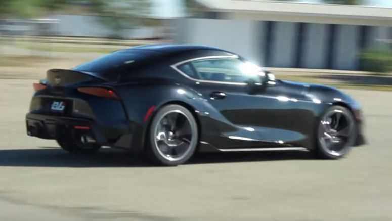 2020 Toyota Supra Sets Impressive Lap Time At Buttonwillow Raceway