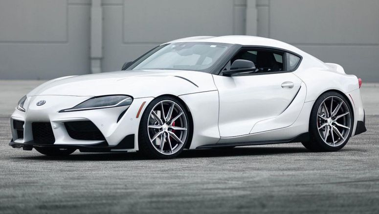 2020 Toyota Supra Looks Much Better On New Wheels, Lowered Suspension