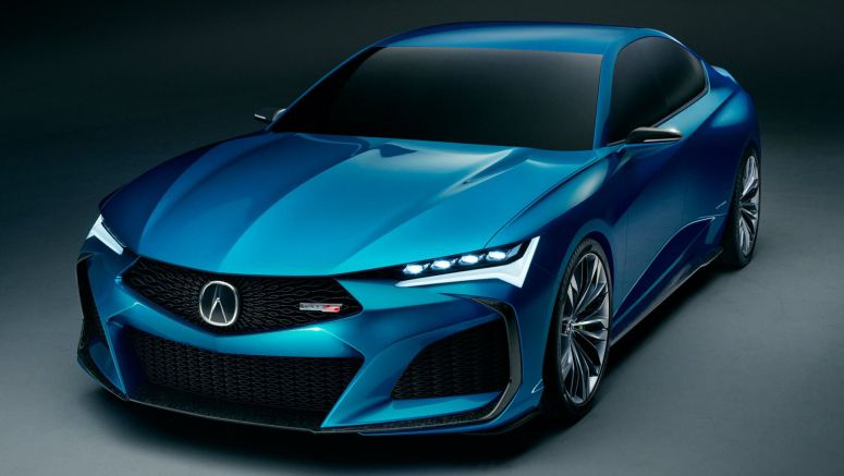 Acura Type S Concept Is A Sensuous Preview Of The Upcoming TLX Type S