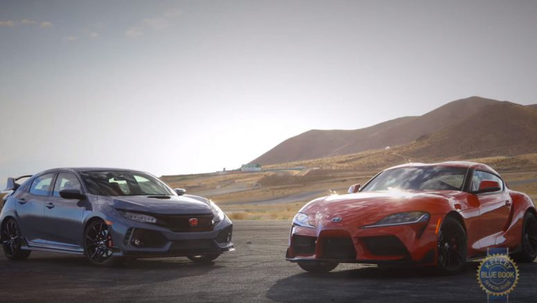 Would You Buy The Toyota Supra Over The Honda Civic Type R?