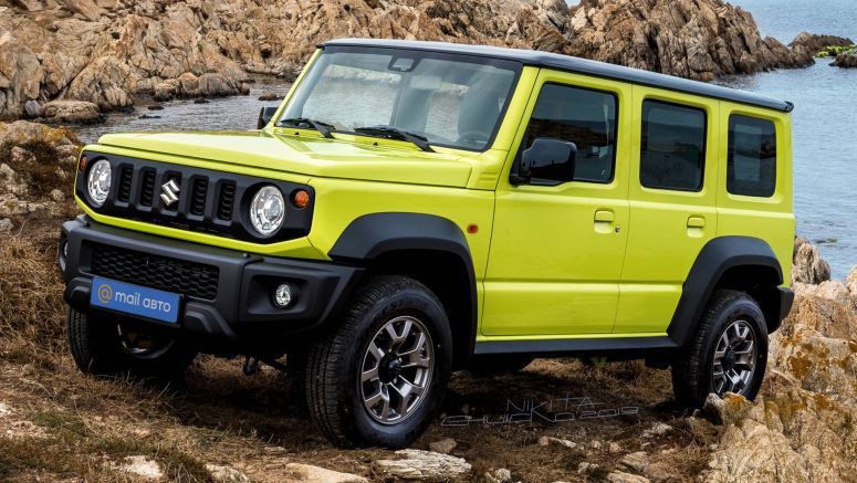 New Suzuki Jimny Looks Just As Good As A Five-Door