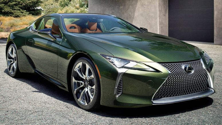 2020 Lexus LC 500 Goes Green With Inspiration Series Limited Edition