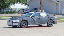 Next-gen Acura TLX spied testing in heavy camouflage
