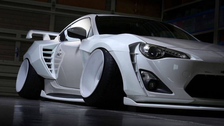 Okay Seriously, Which One Of You Sat On This Toyota 86?