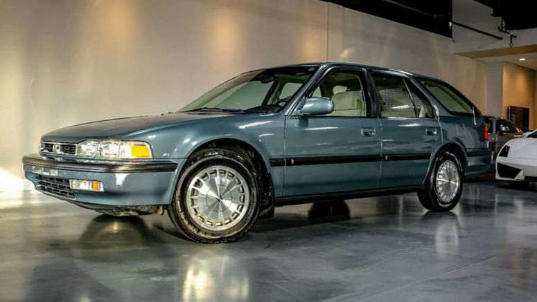 33k Mile Honda Accord Wagon Is A Time Capsule From The 1990s