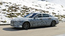 2020 Mercedes-Maybach S-Class Prototype Takes To The Alps