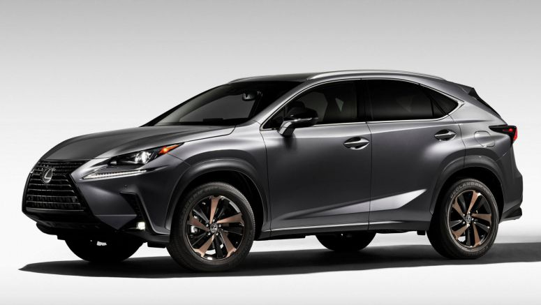 2020 Lexus NX 300 Black Line Special Edition Comes Loaded With Bronze Accents