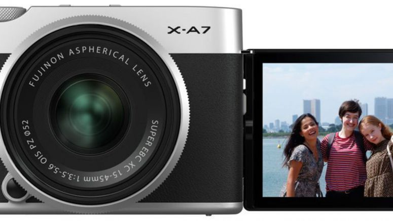Fujifilm X-A7 Entry-Level Mirrorless Camera Announced