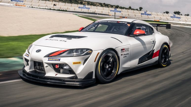The Toyota GR Supra GT4 Will Become Your Own Race Car For $200k Plus Taxes