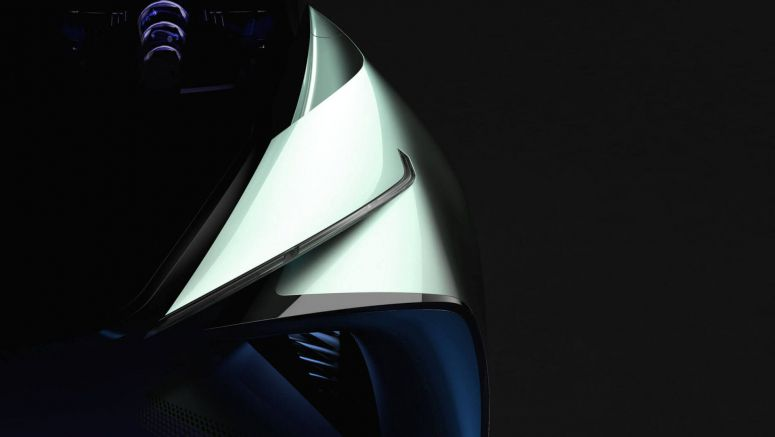 New Lexus Electric Car Concept Teased For Tokyo Motor Show