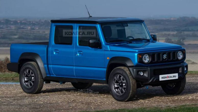 Would A Suzuki Jimny Double Cab Pickup Be Too Much Of A Stretch?