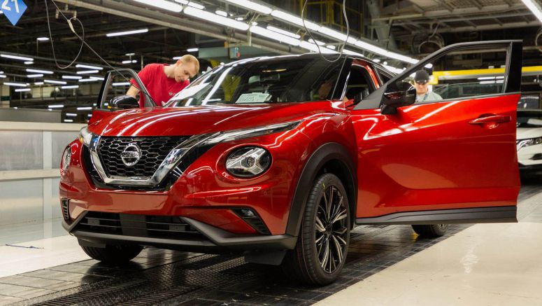 2020 Nissan Juke Goes Into Production At Sunderland Plant