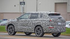 2021 Mitsubishi Outlander Spied With A Bold New Design
