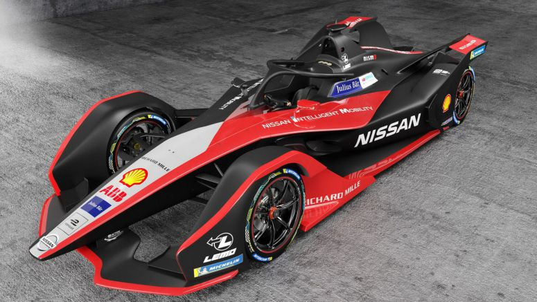 Nissan's 2019 Formula E Car Features Kimono-Inspired Livery