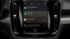 Electric Volvo XC40 Getting Android-Powered Infotainment System