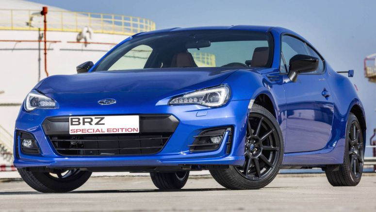 Subaru BRZ Special Edition Is For Spain Only, Costs €32,900