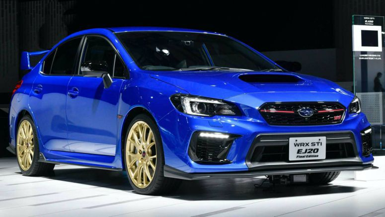 Subaru WRX STI EJ20 Final Edition Drops The Curtain On Legendary Engine