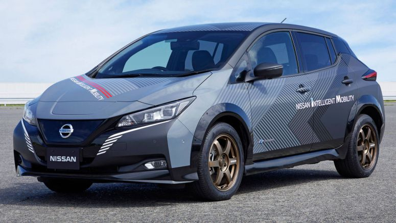 This Is The 304 HP Nissan Leaf Electric Hot Hatch That You Can't Buy