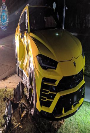 14-Year-Old Aussie Crashes Into Lamborghini Urus With A Stolen Subaru