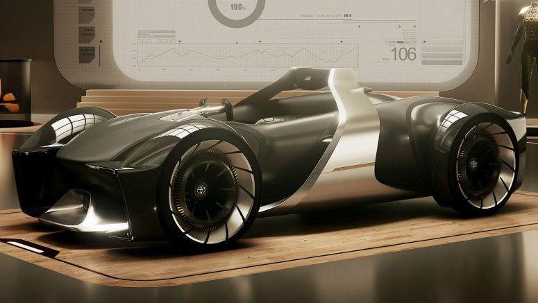 Toyota e-Racer Concept Shows Sports Cars Have A Future