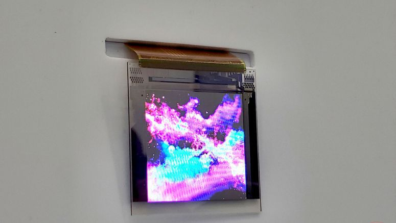 Kyocera Micro-LED Display Is Amazingly Bright