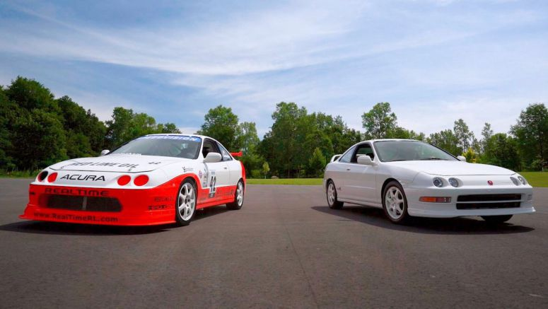 Acura's Iconic Integra Type R Touring Car Returns To The Track For More Action