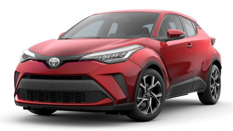 America's 2020 Toyota C-HR Bows With Updated Face, New Tech