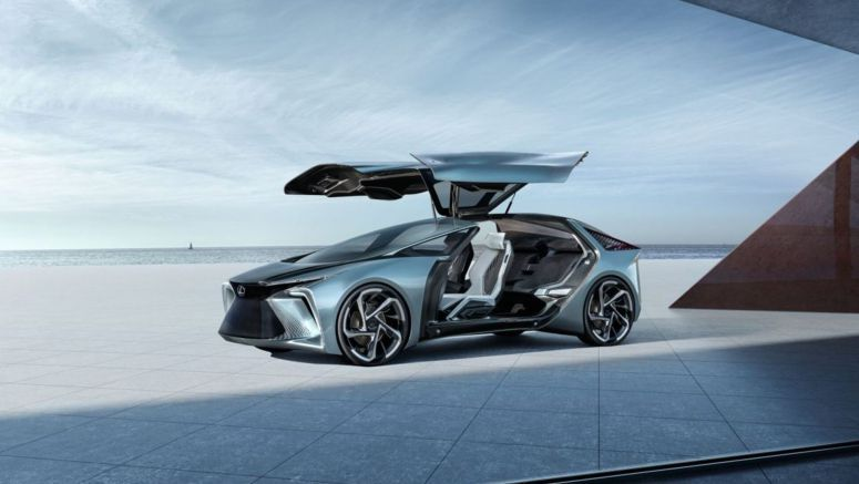 Lexus' Concept Electric Car Comes With A Built-In Drone