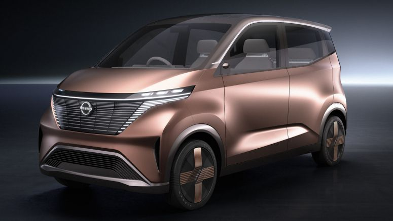 Nissan IMk Concept Is The Ultimate Urban Commuter For The Electric Age