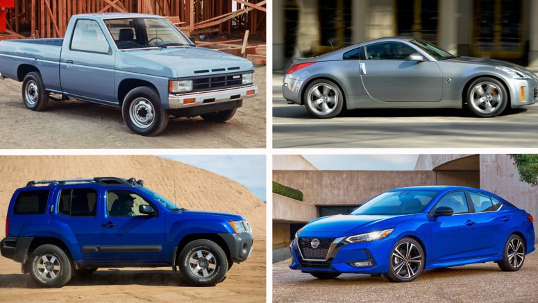 Nissan Has Been Designing Cars In America For 40 Years, Take A Look At Their Greatest Hits