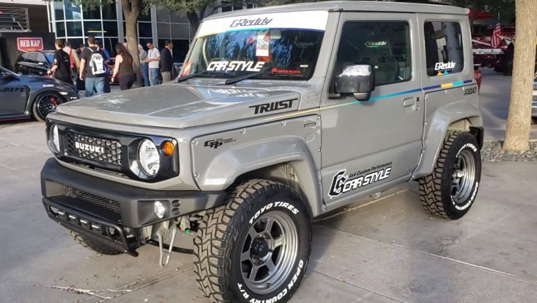 This Turbocharged Suzuki Jimny Looks Like A Tiny Lot Of Fun