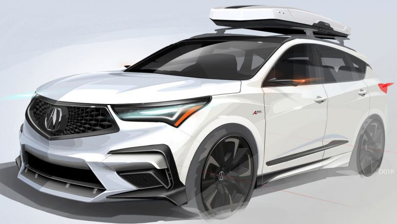 Acura Previews Sporty RDX For SEMA, Will Be Joined By Three NSXs