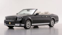 Toyota Century Convertible Bows At Emperor Naruhito's Coronation Ceremony