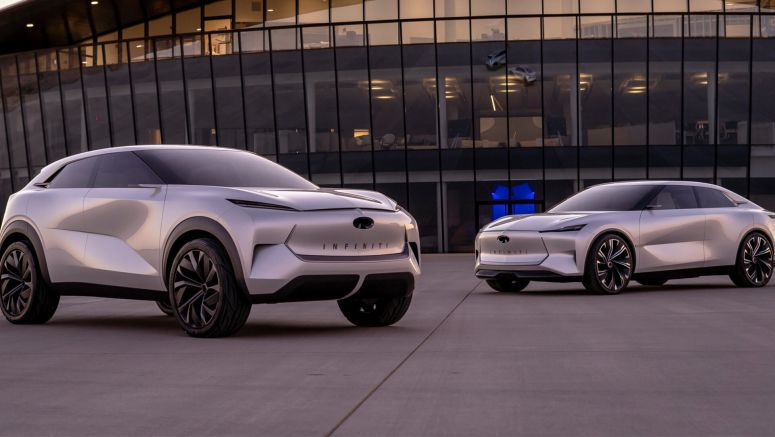 Infiniti Details Their Dual Electrification Strategy, Announces Gas-Powered EV With Up To 429 HP
