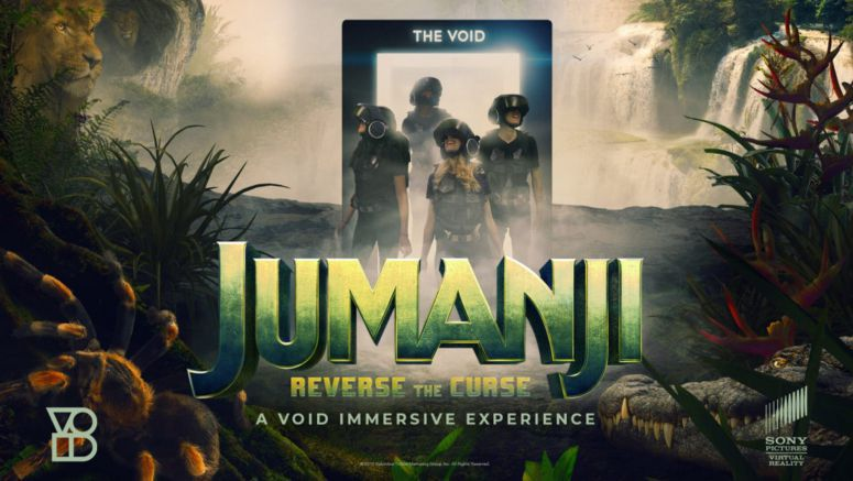Sony Pictures To Offer An Exclusive 'Jumanji' VR Experience