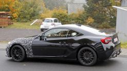 Subaru Caught Testing Mystery BRZ Against Alpine A110 And Mazda MX-5