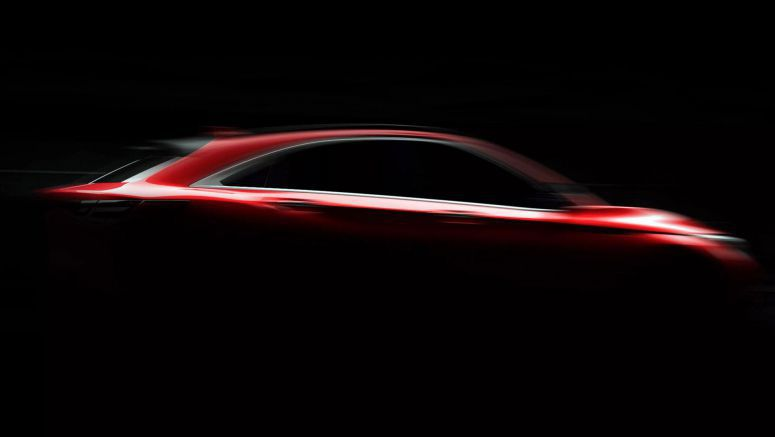New Infiniti QX55 Coupe-Crossover Teaser Reveals More Of BMW X4 Rival