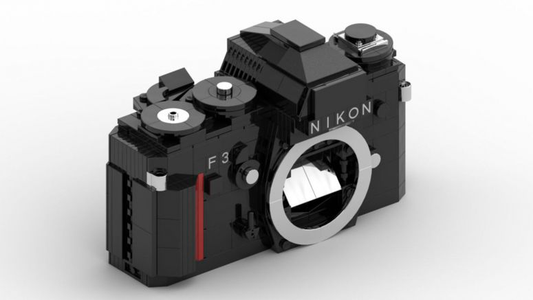 This LEGO Nikon F3 SLR Is All Kinds Of Awesome