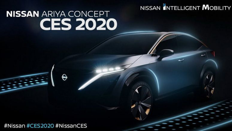 Ariya Concept To Spearhead Nissan's CES 2020 Exhibit