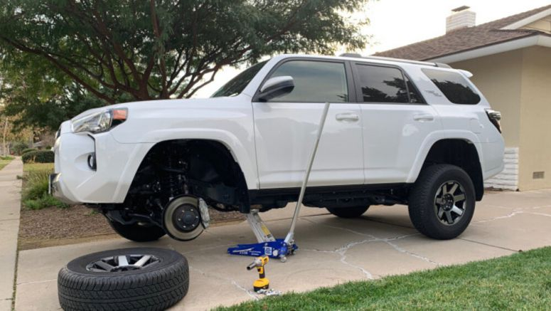 Toyota 4Runner TRD Off-Road Suspension Deep Dive