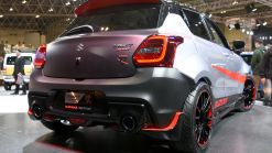 Suzuki's Angry Swift Sport Katana Edition Muscles Up With Flared Fenders In Tokyo