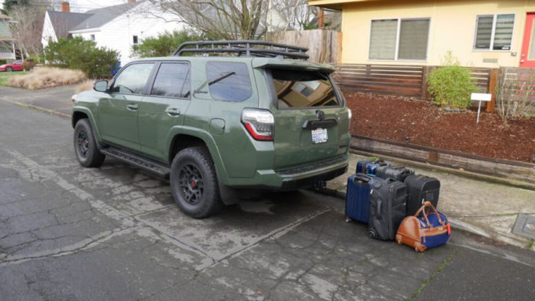 2020 Toyota 4Runner | How much fits in the cargo area?