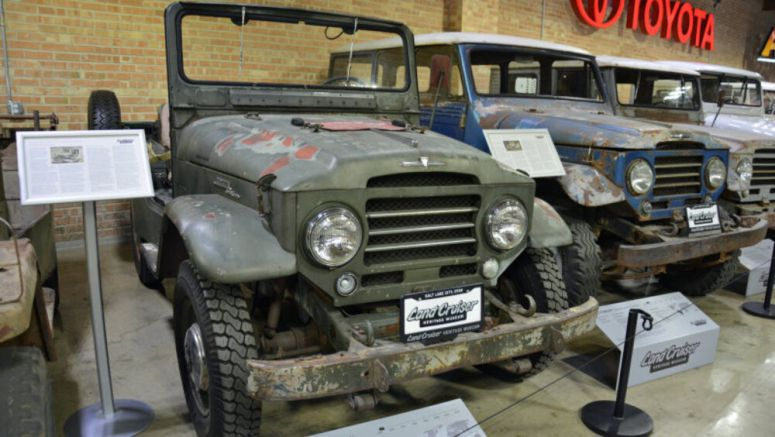 1958 Toyota FJ25 is America's first Land Cruiser