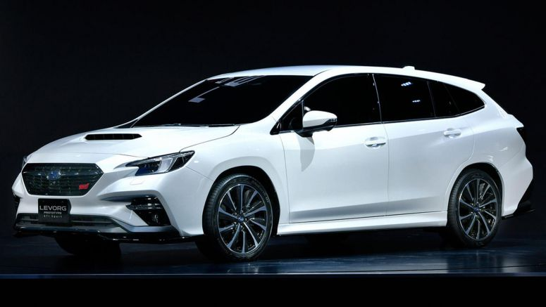 2020 Levorg Prototype STI Breaks Cover With Subaru-First Technologies