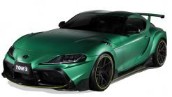 TOM's Modified 2020 Toyota Supra Hulks Out In Land Of The Rising Sun