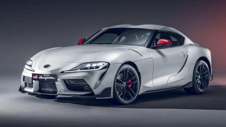 2020 Toyota Supra four-cylinder has less power, less weight