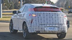 Infiniti QX55 coupe crossover spied for the first time